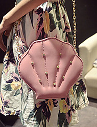 Women 's PU Sling Bag Tote - Pink/Gold/Silver/Black