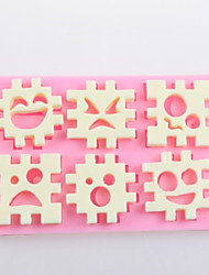 Jigsaw Puzzle Fondant Cake Chocolate Silicone Molds,Decoration Tools Bakeware