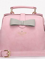 pu bolsa de hombro baguette / totalizador inleela®women 's - blanco / rosa / gris / negro