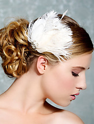 Hand Made Wedding Feather Hair Clip Fascinator Headpieces Fascinators 019