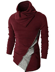 Supon  Men's Sweaters , Cotton Long Sleeve Casual