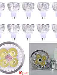 10pcs HRY® 4W MR16 450LM Light LED Spot Lights(12V)