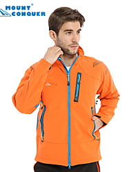 Mount Conquer Outdoor Jacket Brand Hiking Jacket Softshell Jacket Men Windproof  Coldproof Thermal Hiking Camping Jacket