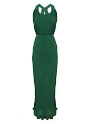 Women's Cross Back Prom Maxi Dress