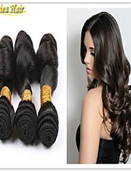 3PCS/Lot Peruvian Virgin Hair 3 Bundles 100% Human Hair Products Peruvian Body Wave 8A Unprocessed Virgin Hair