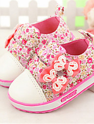Baby Shoes Casual Canvas Fashion Sneakers Green/Pink