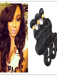 3PCS/Lot 8A Brazilian Hair Bundles Body Wave Human Hair Weave Unprocessed Virgin Hair Extensions Weft Free Shipping