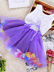 Vestido ( Algodón )- Casual/Bonito/Fiesta
