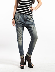 Women's Fashion Loose and Looks Thin Baggy Jeans