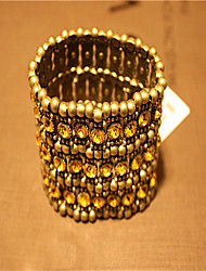 Cute/Casual Brass/Cubic Zirconia Stacked Bracelet