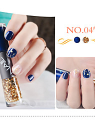 Nail Polish Double Painting Pen NO.1-12(7*2ML,Assorted Colors)