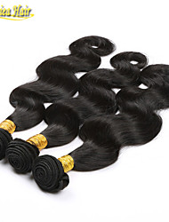 3PCS/Lot Cheap Unprocessed Virgin Hair Brazilian Remy Hair Weave 100% Human Hair Extensions Body Shape Free Shipping