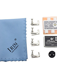 IRIN Highlights The Violin Blue Rag Rosin + + Pitch Pipe + 4 Fine-Tuning (3/4 and 4/4)