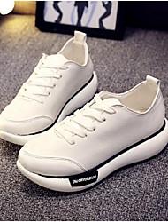 Scarpe Donna - Sneakers alla moda - Casual - Chiusa - Piatto - Di corda - Bianco
