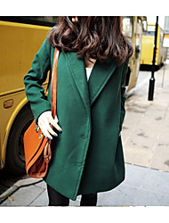 Women's Sleeve Length Fabric Outerwear Type , Clothing Style