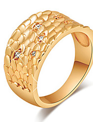Maria 18K Gold-plated Jewelry Inlaid Zircon Ring