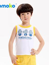 The child he wear 2015 summer new boys vest in cotton vest sleeveless shirt