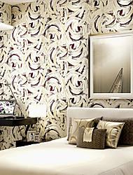 novo arco-íris ™ wallpaper arte contemporânea deco personalidade moderna parede círculo cobrindo arte não-tecidos da parede da tela