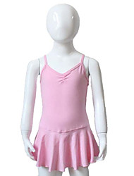 Cotton/Lycra Tank Leotard with Skirts More Colors for Girls and Ladies