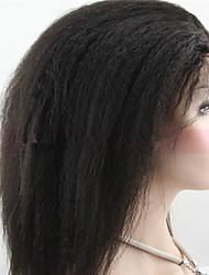 a buon mercato mongoli vergini parrucche merletto dei capelli umani diritto crespo parrucche glueless del merletto anteriore # 1, # 1b, #