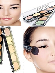 Professional 5 Concealer Camouflage Makeup Palette(2 Selectable Colors)