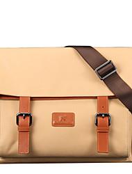 x.bnj rozó la tela con cuero genuino de la vendimia primera capa de la moda para los hombres maletines de diseño únicas causales bolsa