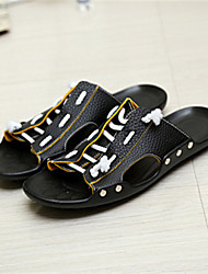 Men's Shoes Casual  Sandals Black/Yellow/White