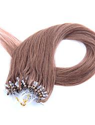 20inch 50g / pack 0.5g / hebras miro bucle / anillo extensiones de cabello remy recta del pelo humano del multi-colores disponibles