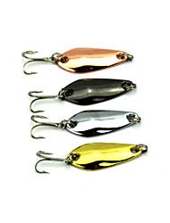 4pcs Hengjia Hard Baits/Spinner Baits 3.7g  35mm Fishing Lures