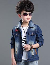 Boy'S Korean Denim Jacket Coat