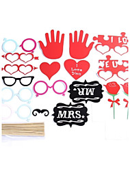 18  Sets Of Interesting Birthday Party Welcome  Wedding Pictures Props Lips