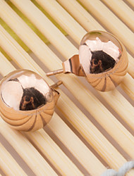 The Woman Color Stainless Steel Earrings