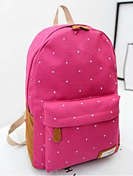 Women 's Canvas Weekend Bag Backpack - Pink/Blue/Green/Fuchsia