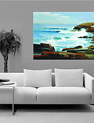 Oil Paintings One Panel Modern Abstract Landscape Hand-painted Canvas Ready to Hang
