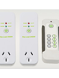 Wireless Surge Current Product AU Plug Remote Control Socket Switch And Remote Control