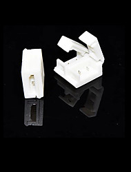 5 PCS 2-Pins Solderless Connector For 10MM 5050 Single Color Waterproof LED Strip Lights