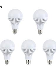 Decorative Globe Bulbs , E26/E27 9 W 15 SMD 5630 330-360 LM Warm White / Natural White AC 220-240 V