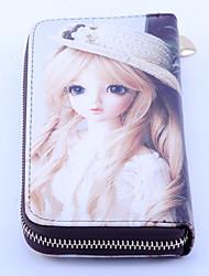 Women's PVC Multifunctional Zipper Wallet