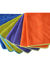 Sinland Microfiber Dusting Towel Wash Auto Detailing Car Cleaning Cloths 4 Colors 14 Inchx14 Inch Pack of 8