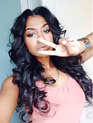 "10""-30""Brazilian Virgin Hair Body Wave Human Hair Lace Wigs Full Lace Wig for Black Women Body Wave Lace Front Wigs"