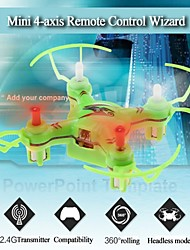 3D Fly Headless Mode V646 Mini RC Quadcopter Drone 2.4GHz With 6-Axis Gyro And Colorful Lights