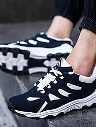 Беговая обувь Черный / Синий Обувь Мужской Дерматин