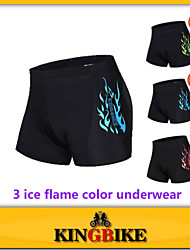 2015 New Sports Black Flame Style Cycling Underwear Gel 3D Padded Bike/Bicycle Short M-3XL Outdoor 3Color