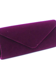 Для женщин Замша Для праздника / вечеринки Вечерняя сумочка Фиолетовый / Синий / Коричневый / Красный / Черный