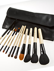 12 Pcs Soft Makeup Brush Set Goat Hair Cosmetic Makeup