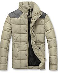 Logir Men's Hoodie Coats & Jackets , Cotton Blend Long Sleeve Casual/Work Fashion Winter Logir