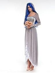 Halloween / Carnaval - para Mujer - Disfraces de Temas de Películas y Televisión / Zombi / Fantasma - Disfraces - Vestido / Para la Cabeza