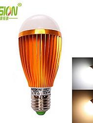Ampoules Globe , E26/E27 7 W 7 LED Haute Puissance 630lm LM Blanc Chaud / Blanc Froid AC 85-265 V