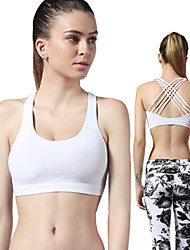 Shyelemon ® Yoga Tops Permeabilidad a la humeda / Materiales Ligeros Eslático Ropa deportiva Yoga / Fitness / Running Mujer