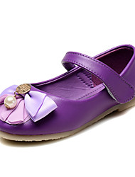 Baby Shoes Wedding / Dress / Casual Leatherette Flats Pink / Purple